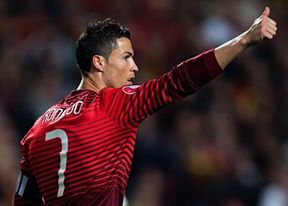 CR7 en équipe nationale du Portugal