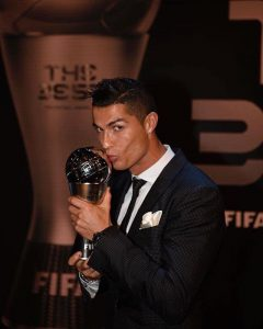 CR7 FIFA Best player 2017